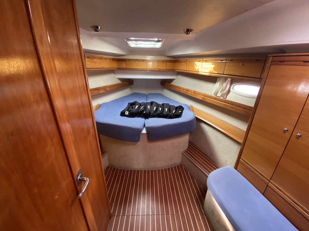 Segelboot Bavaria 46 schlafcabine