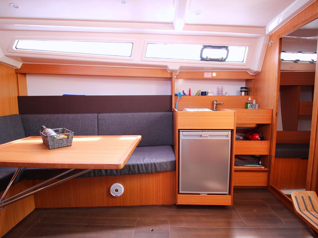 Segelboot Bavaria 33 Küchen