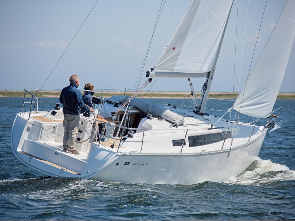 Segelboot Bavaria 33 segeln