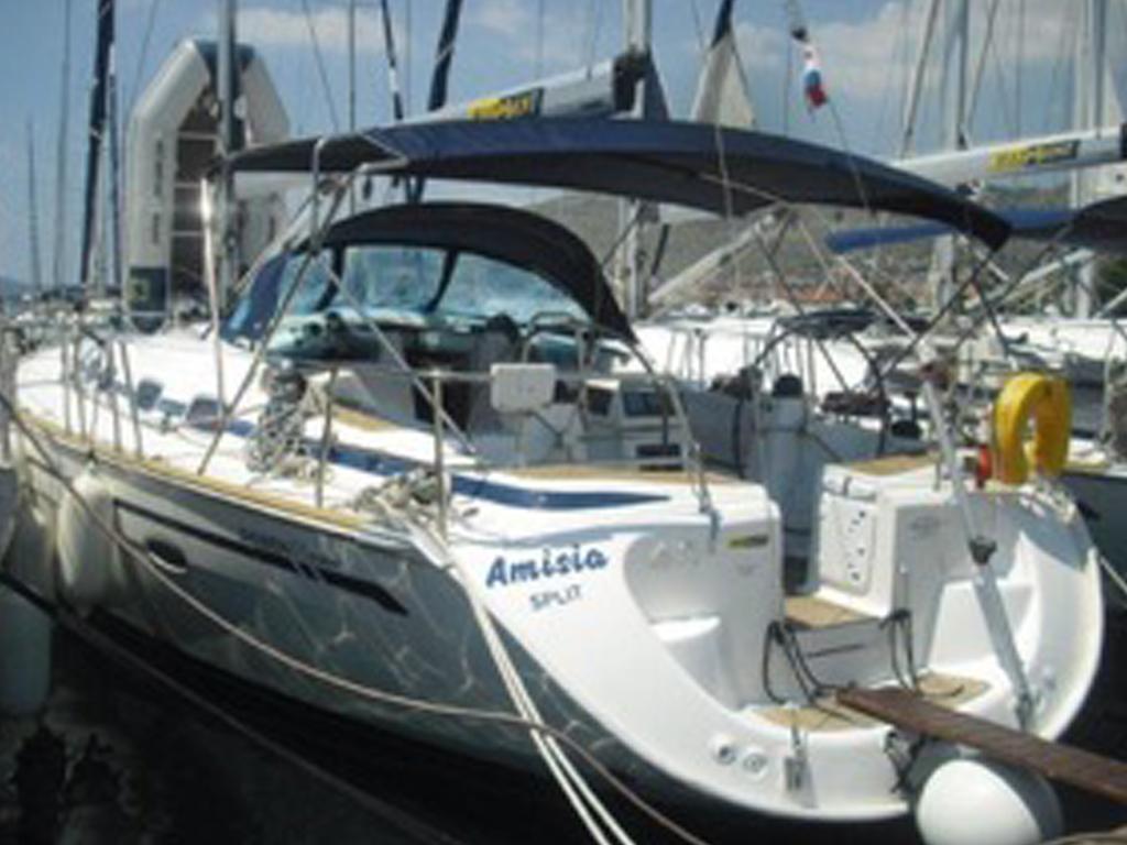 Segelyacht Bavaria 46 hafen