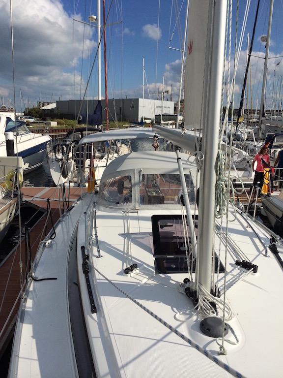 Segelboot Bavaria 33 oben
