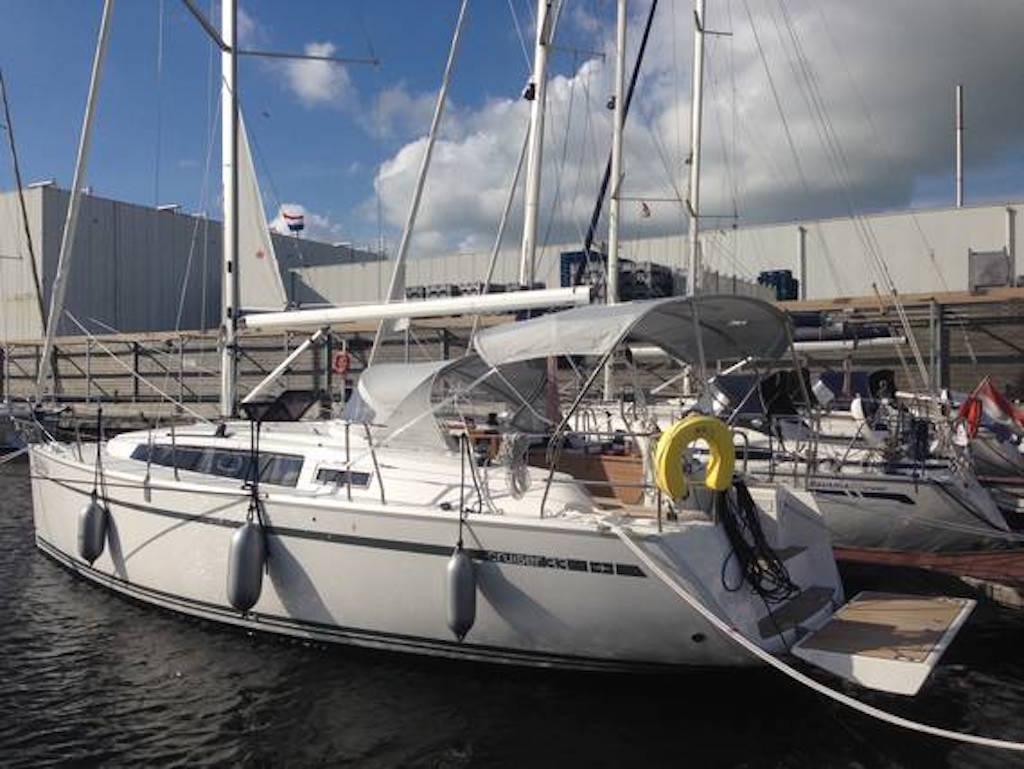 Segelboot Bavaria 33 hafen