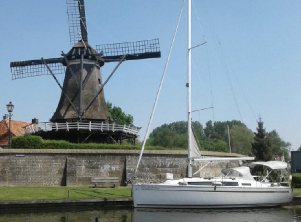 Segelboot Bavaria 33 Windmühle