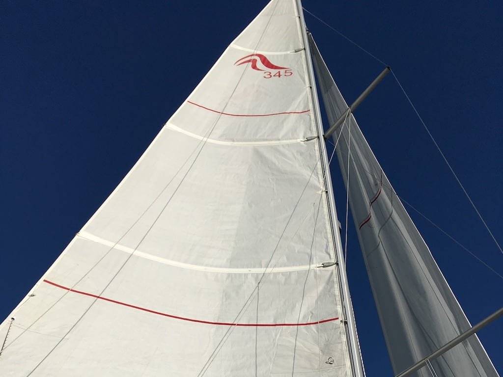 Segelyacht Hanse 345