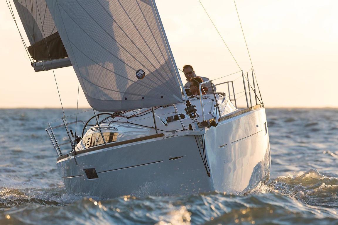 Jeanneau Sun Odyssey 349 - segeln